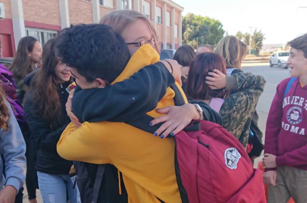 Despedida de alumnos alemanes